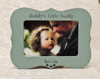 Daddy Gift Fathers day gift dad papa daddy apa Personalized Custom photo picture frame son daughter father groom wedding gift