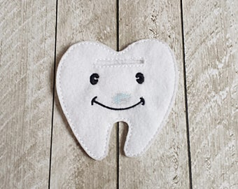 Tooth Fairy Money Holder, Teeth, Dentist, Tooth Fairy Pillow, Tooth Holder, Tooth Fairy, Dental, Kids, Pouch
