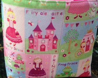 Princess Girl Tote Bag