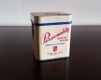Fleming and Hall Personality Smoking Mixture Tin - Worthy of its Name