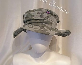 Army Camouflage Bucket Hat