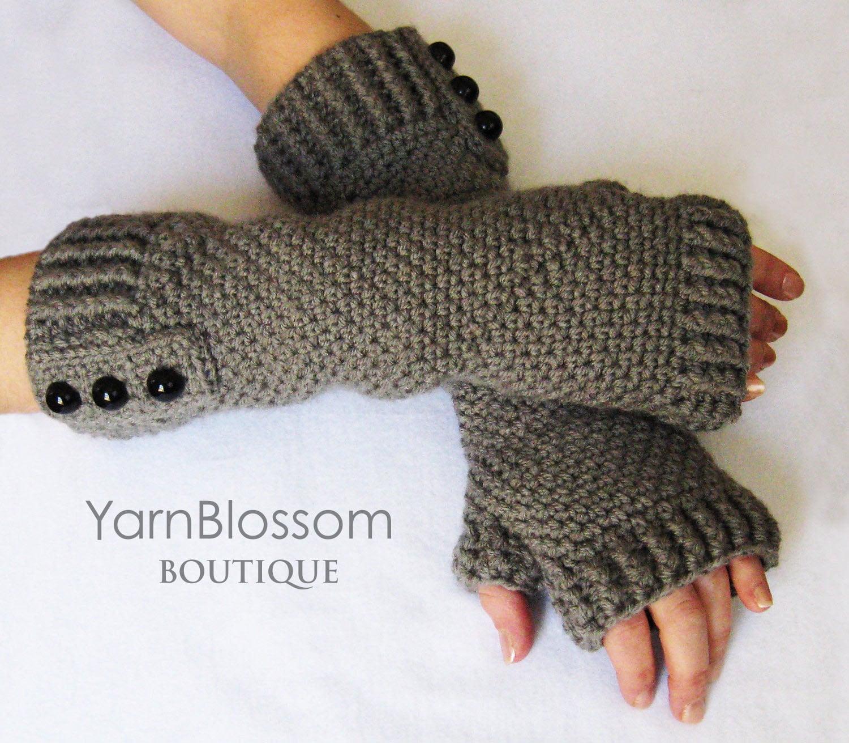 Fingerless Gloves CROCHET PATTERN PDF Instant Download women ...