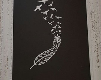 Birds From a Feather Decal