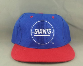 New York Giants Hat (VTG) - By AJD (Pro Line) - Adult Snapback - New No Tags