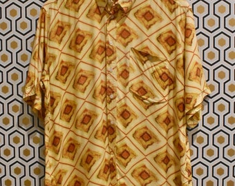 Yellow Diamond Party Shirt