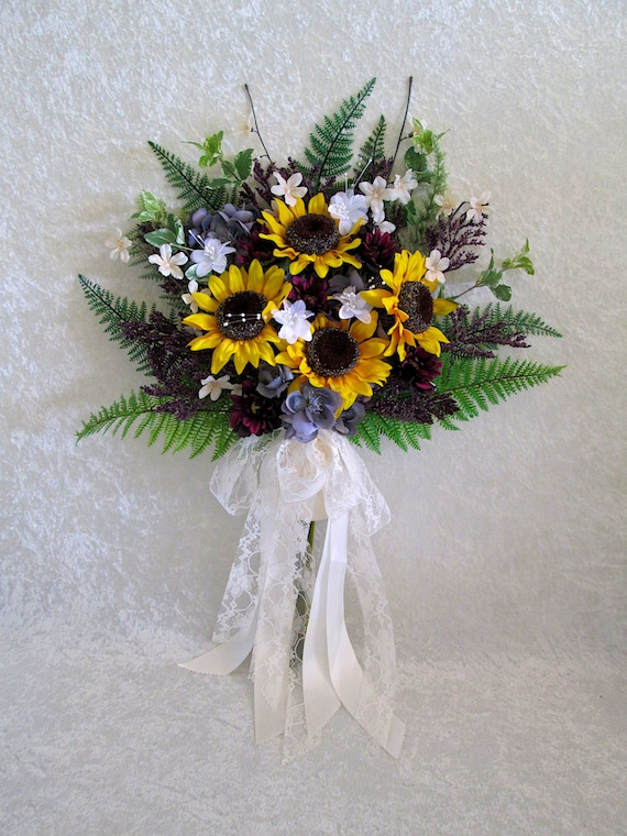 bouquets de mariage tournesol tournesol bouquet de la mari e. Black Bedroom Furniture Sets. Home Design Ideas