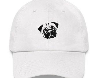 Pug Dad Hat - Pug Hat - Pug - Pug Mom - Pug Gift - Pug Apparel - Pug Dog - Pugs - Pug Life - Pug Shirt - Pug Cap - Pug Baseball Cap - Puggle
