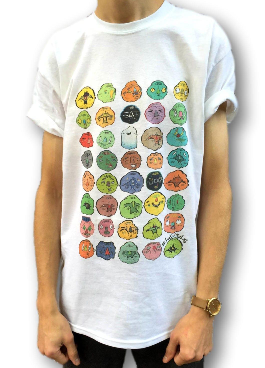 Indie T Shirt, 90s Grunge T Shirt, Graphic Tee, Men's Cartoon T-Shirt, Men's Alternative Clothing, Women's Indie Top, Men's Baggy Tee, Shirt