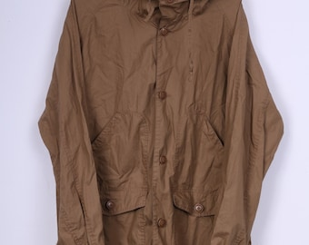 These Glory Days Mens M Lasse Jacket Chocolate Hooded Parka