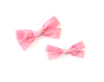 Velvet Ribbon Schoolgirl | Blush Rose