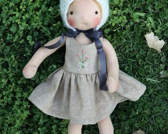 Waldorf doll pattern | doll pattern | Waldorf Dollmaking | Simple Doll Pattern | Little Fig Doll Pattern | Fig and Me | Sewing Doll Pattern.