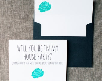Funny Will You Be My Maid of Honor Bridezilla Card | Sassy Maid of Honor Card | Funny Bridesmaid Invite | How to Ask Friend To Be in Wedding