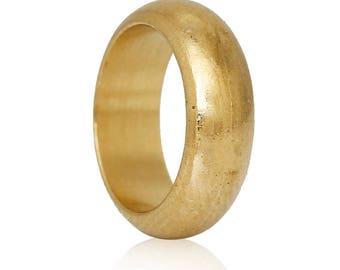 10 pearls 10mm brass rings