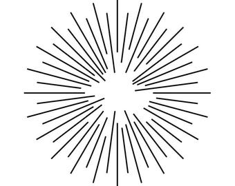 Element Sunburst Lens Flare Light Natural Phenomenon Sun Glittering Shiny.SVG .EPS .PNGVectorSpaceClipartDigitalDownload Circuit Cut Cutting