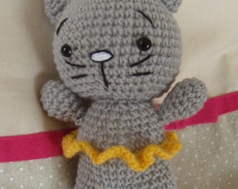 Cat Tutu crochet