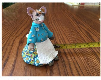 Clay lady mouse