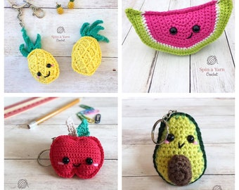 Fruit Keychain Collection