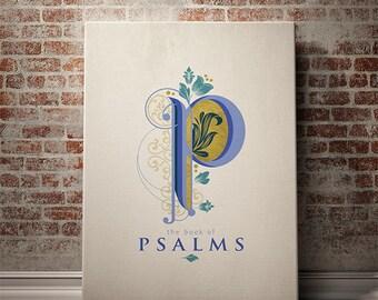 The Psalms Canvas Print