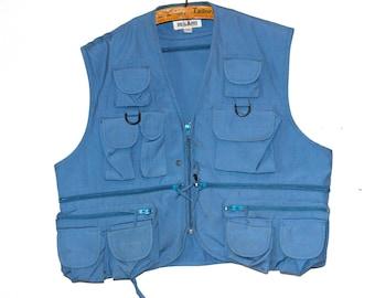 Vintage 'Regard' Hunting Fishing Vest Military Outdoor, Large
