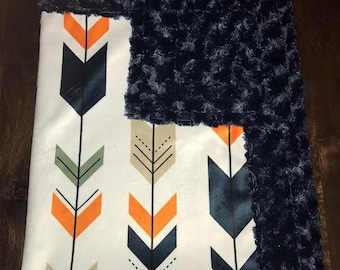 Navy and Orange Arrows