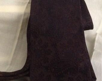 Vintage Brown Tones Men's Tie Beau Brummel