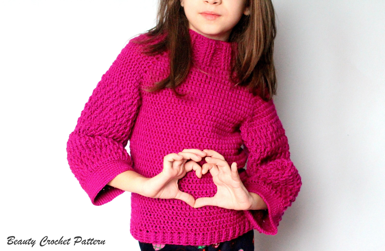 Crochet Sweater Pattern, Crochet Sweater Pattern Women,Crochet ...