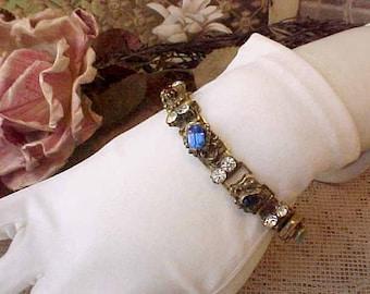 Beautiful Vintage Jeweled Bracelet