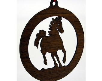 Horse Ornament Set of 5.