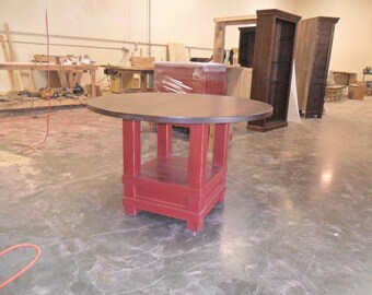 Reclaimed, Salvaged, Solid Wood Dining Table, Vintage, Rustic, Shabby Chic