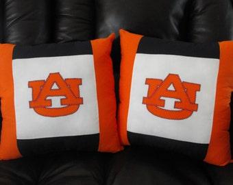 Auburn Throw Pillows