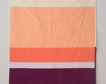 Colour Fields No. 05 Quilted Poster/Baby Quilt