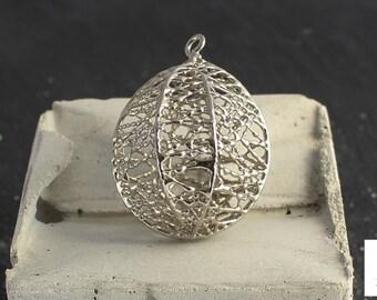 Lace Sphere Pendant