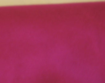 "rasberry coloured medium weight cotton, 1.45 metre length and 60"" width"
