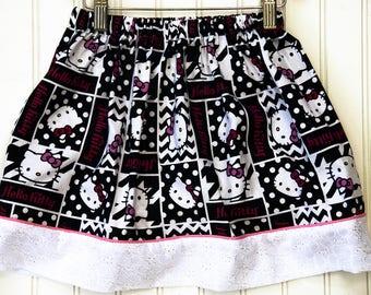 Hello Kitty Banner Skirt (Size M)