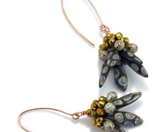 Tutorial Bead Jewelry Earring, Dagger Down Earrings