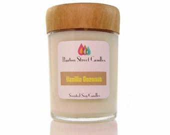 Vanilla Coconut Woodwick  candle