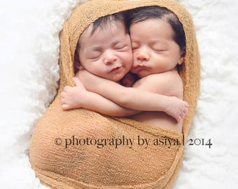 Golden Tan Free Shipping! Stretch Knit wrap, newborn wrap, photography prop wrap, stretch wrap, newborn pictures