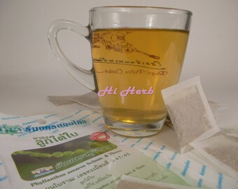 20 Teabags Phyllanthus Amarus Schum Thonn Herb Herbal Tea Powder Healing Herbs Cures Fever Antipyretic
