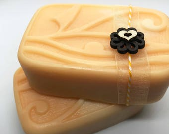 Apricot Soap - Handmade Soap, Natural Soap, Homemade Soap, All Natural, Vegan Soap, Bath and Beauty, Soap, Soaps, Organic Soap, gift her