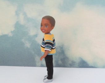 CHELSEA BOY Maize Stripe Shirt Outfit