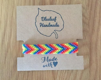 Rainbow/Pride Friendship Bracelet