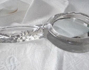 Hand mirror. Round mirror. Vintage mirror. Framed glass mirror. Handmade mirror. Hand made mirror. Art deco. Swedish Antique 1930.