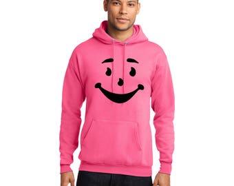 Kool Aid Man Pullover Hooded Sweatshirt Funny Hoodie