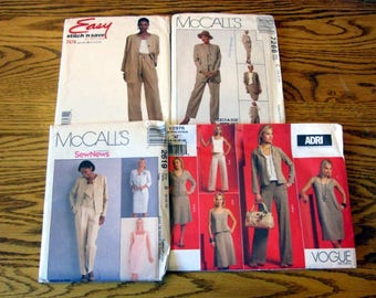 Office Attire Sewing Patterns, sizes 6 to 22 - UNCUT