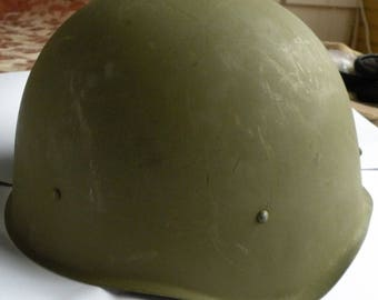 Helmet of the soldier of Red Army