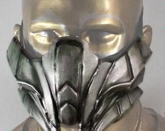 Reptile Mortal Kombat X Mask Replica Forjadict3d. Fan Art.