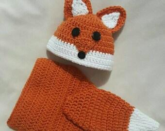 Newborn Fox Diaper Cover