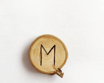 M letter magnet - kitchen decor - office accessories - office decor - gift idea - valentines day