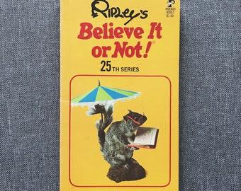 Ripley's Believe it or Not! 25th series