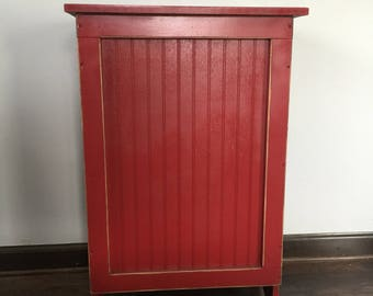 Quick View. More Colors. Primitive Wood Laundry Hamper, Or Blanket Storage  Cabinet